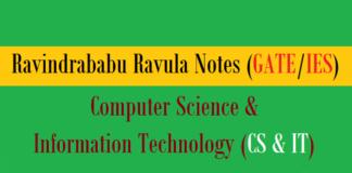 ravindrababu ravula notes cs