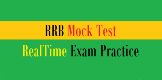 rrb mock test exam practice