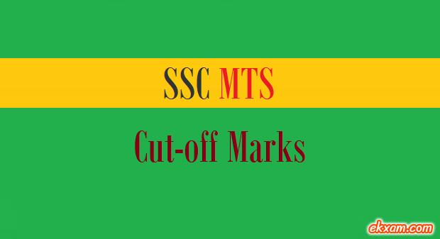 ssc mts cut off marks