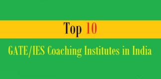 top 10 gate ies coaching institutes india
