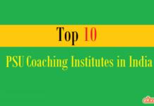 top 10 psu coaching institutes india
