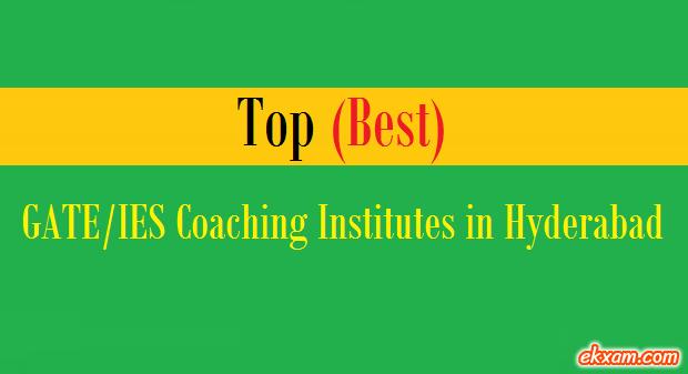 top best gate ies coaching institutes hyderabad
