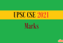 upsc cse marks
