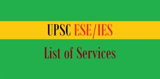 upsc ies services